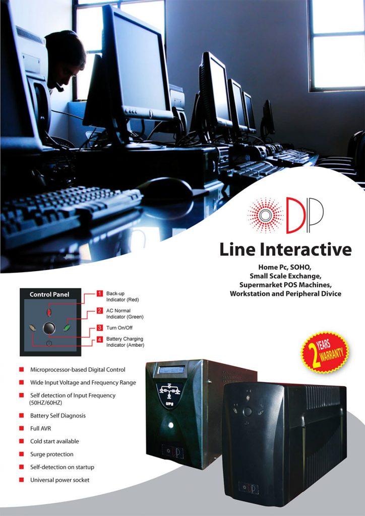 line interactive batteries